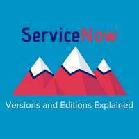 ServiceNow Versions and Editions